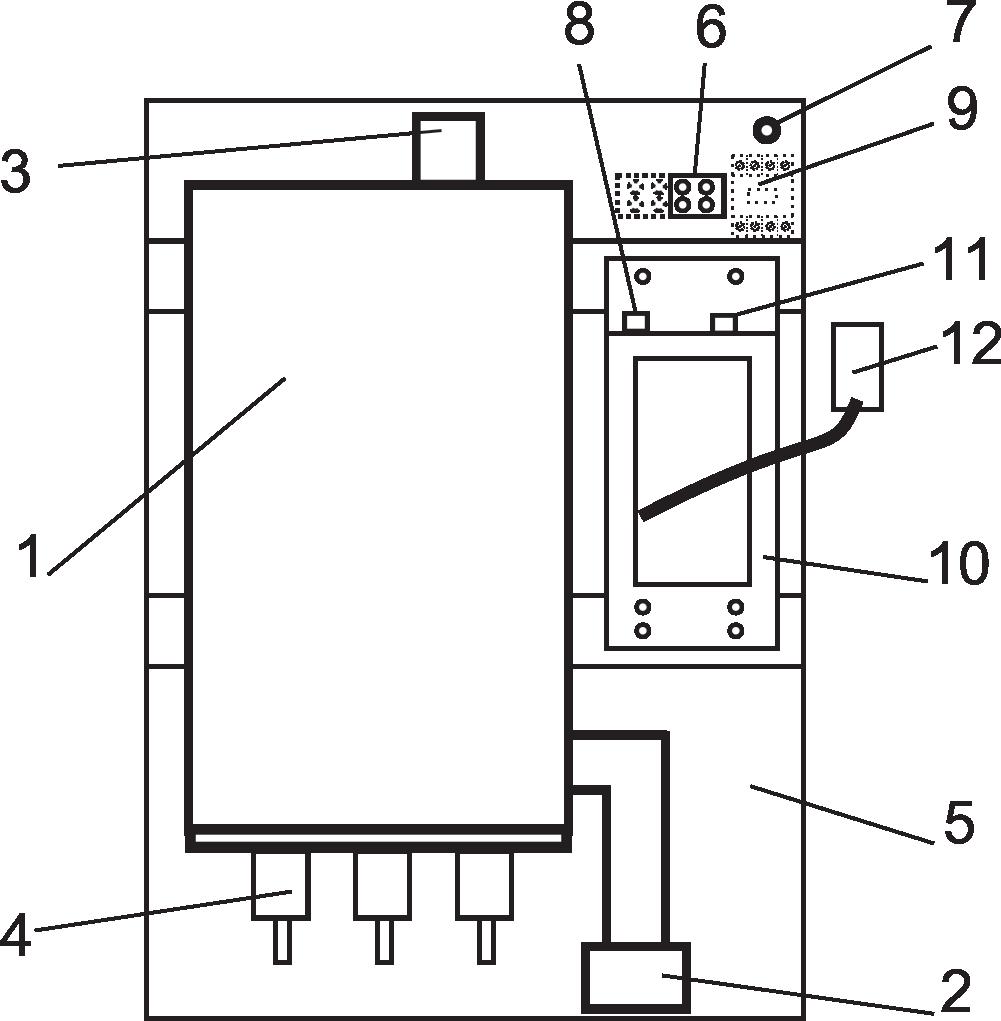 электрокотел Эван Вармос схема, устройство