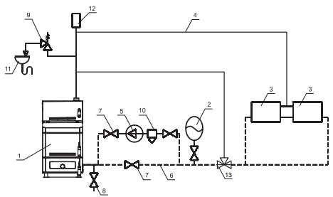схема подключения котла GTM комфорт